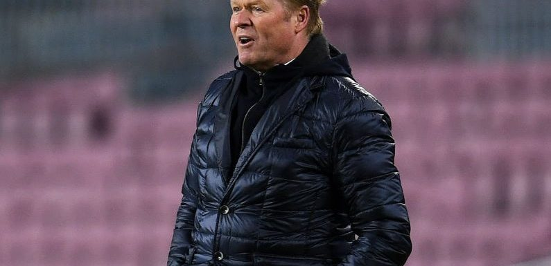 Barcelona's title aspirations rest on January results, admits Ronald Koeman