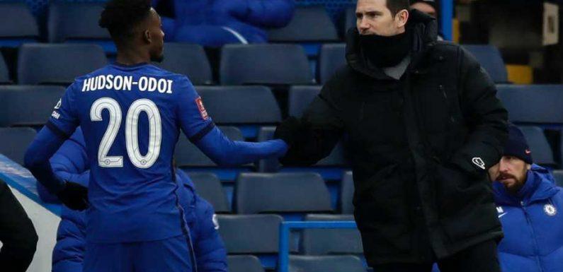 Callum Hudson-Odoi continues Chelsea rejuvenation to pose Frank Lampard dilemma ahead of key week