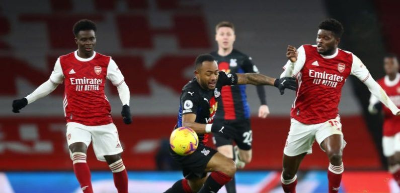 Uninspired Arsenal held to goalless draw by Crystal Palace