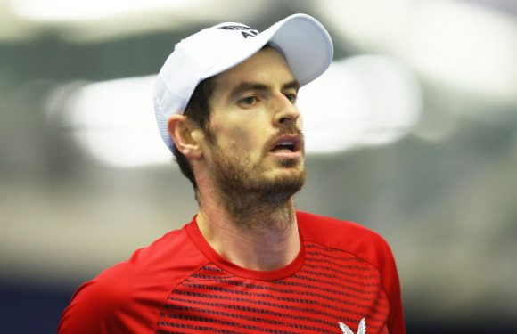 Andy Murray tests positive for coronavirus