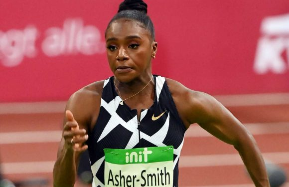 Britain's Dina Asher-Smith sets world-leading time as she wins indoor 60m