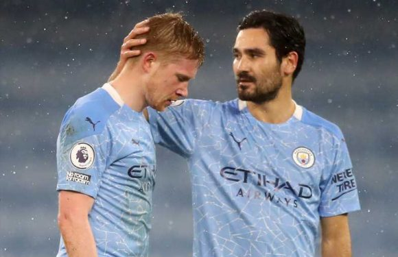 Kevin De Bruyne injury: Manchester City midfielder suffered 'muscular' problem, says Pep Guardiola