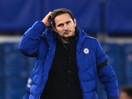 Chelsea to give Frank Lampard time to save his job but have shortlist of potential successors