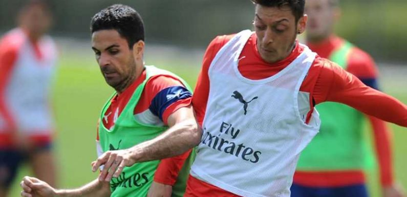 Mesut Ozil's contributions to Arsenal 'unquestionable', says Mikel Arteta as midfielder nears exit