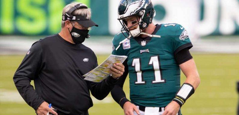 Eagles owner Jeffrey Lurie: Carson Wentz not the reason for Doug Pederson's firing