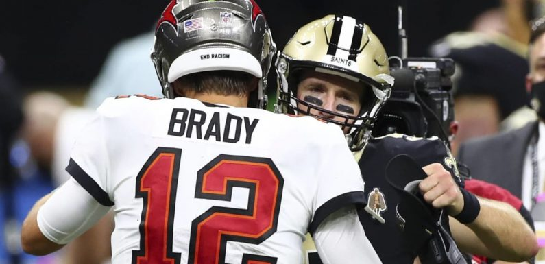 Drew Brees: Playoff matchup vs. Tom Brady was 'inevitable'