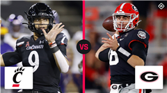 What channel is Georgia vs. Cincinnati on today? Time, TV schedule for the 2021 Peach Bowl