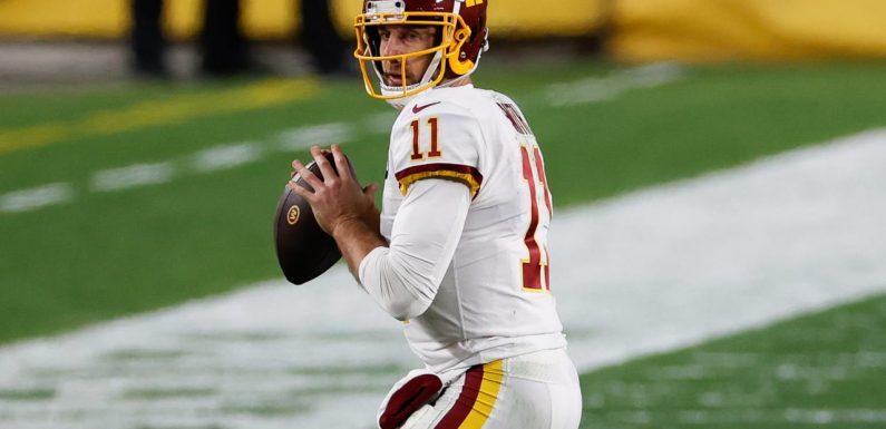 Washington plans to start QB Alex Smith vs. Eagles