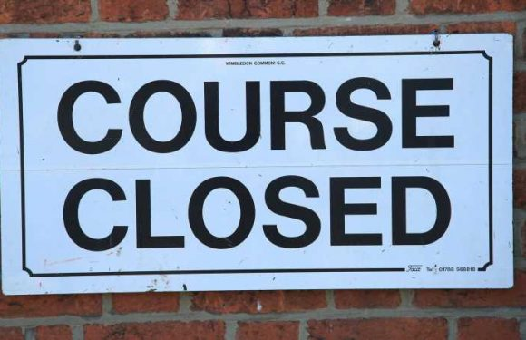 Coronavirus lockdown: Should golf courses be allowed to stay open?
