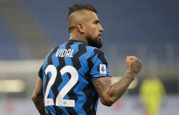 Inter Milan 2-0 Juventus: Arturo Vidal stars as Antonio Conte wins over former side in Derby d'Italia