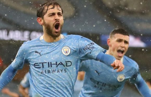 Man City 2-0 Aston Villa: Bernardo Silva, Ilkay Gundogan strike late to send City top of Premier League