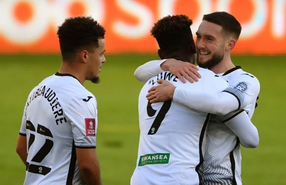 Swansea 5-1 Nottingham Forest: Liam Cullen, Matt Grimes doubles in FA Cup rout