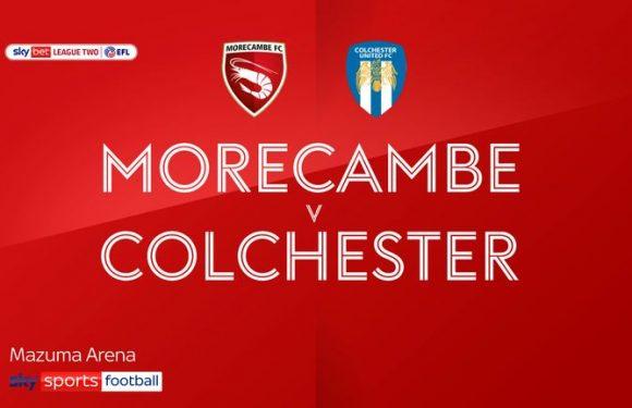 Morecambe 3-0 Colchester: Toumani Diagouraga on target in comfortable Shrimps win