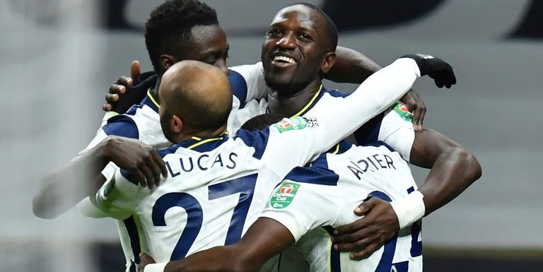 Tottenham 2-0 Brentford: Moussa Sissoko and Heung-Min Son send Spurs to Carabao Cup final