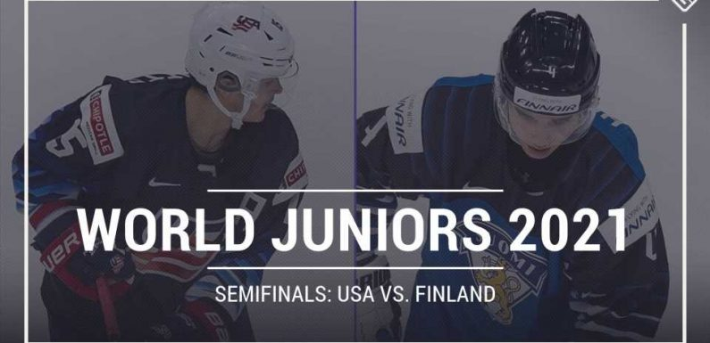 What TV channel is USA vs. Finland on today? Schedule, time for 2021 World Juniors semifinals