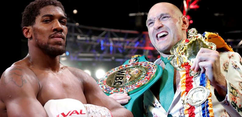 Anthony Joshua vs Tyson Fury 'on verge' of announcement despite promoter feud