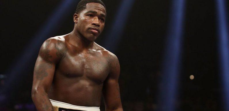 Boxer Adrien Broner wins round on judges' scorecards without landing one punch