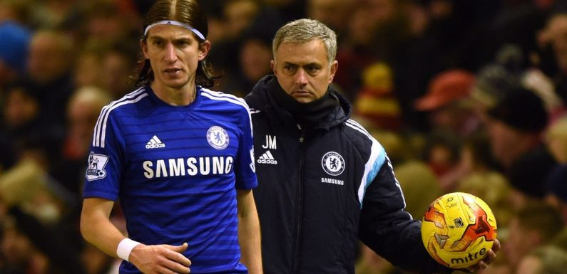 Filipe Luis opens up on Mourinho feud at Chelsea after cup final 'betrayal'