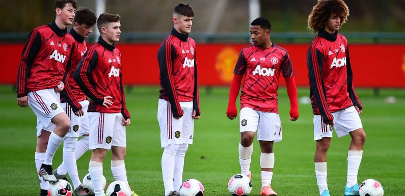 """Man Utd fear wonderkid who 'takes p*** out of team-mates' will """"get leg broken"""""""