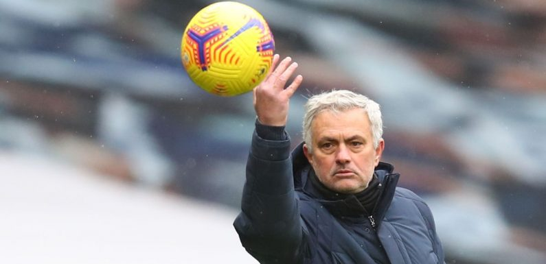 Jose Mourinho launches rant at the official Premier League match ball