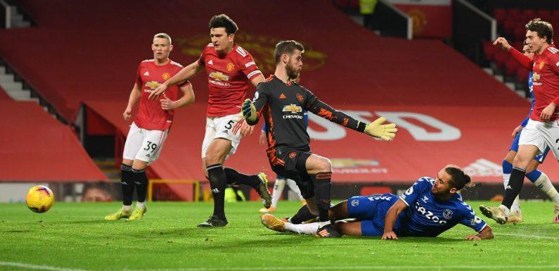 Man Utd fans make the same David de Gea observation after late Everton collapse