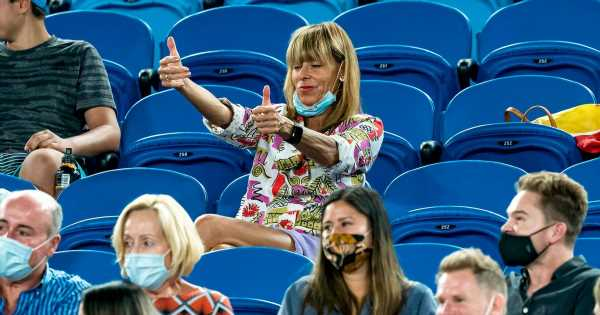 Female fan booted out of Australian Open after foul-mouthed rant at Rafael Nadal