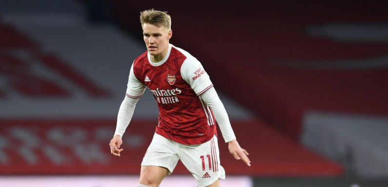 Martin Odegaard 'upsets Real Madrid staff' since moving on loan to Arsenal