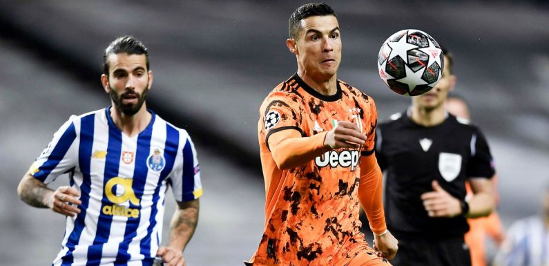 Stats show Cristiano Ronaldo struggles vs Porto as Juventus lose first leg