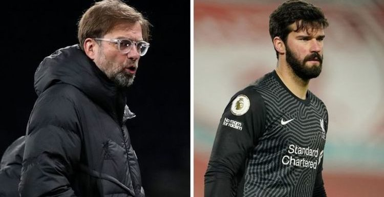 Liverpool boss Jurgen Klopp lifts lid on what Alisson said after Man City howlers