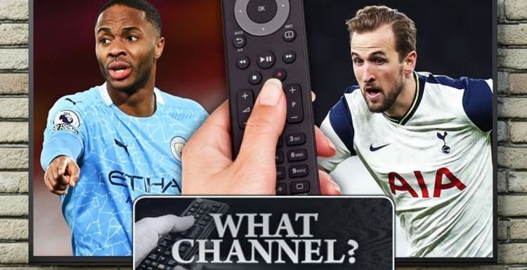 What channel is Man City vs Tottenham on? TV, live stream, kick-off time