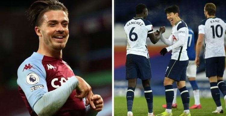 Jack Grealish raves over Tottenham star for performance in Everton FA Cup thriller
