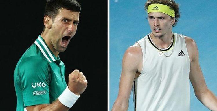 Novak Djokovic overcomes fit of rage to defeat Alexander Zverev at Australian Open