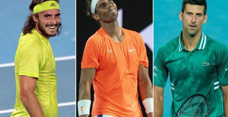 Stefanos Tsitsipas used Novak Djokovic lesson to knock Rafael Nadal out of Australian Open