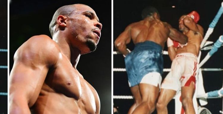 Chris Eubank's Michael Watson flashback prompted warning to son: 'Leave the head!'