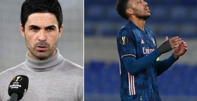 Mikel Arteta frustrated with wasteful Arsenal stars after Benfica Europa League draw