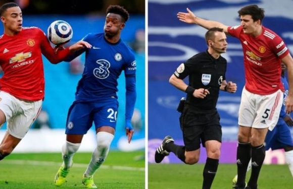 Man Utd star Luke Shaw claims referee told Harry Maguire 'it was going to be penalty'