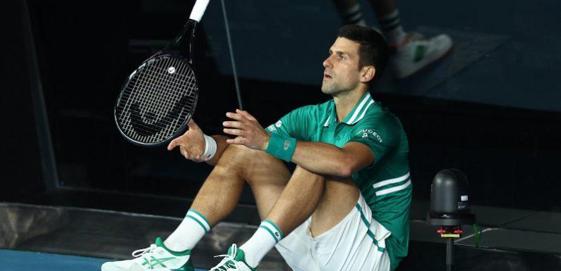 Tennis year 'unworkable' if quarantine remains, says Djokovic