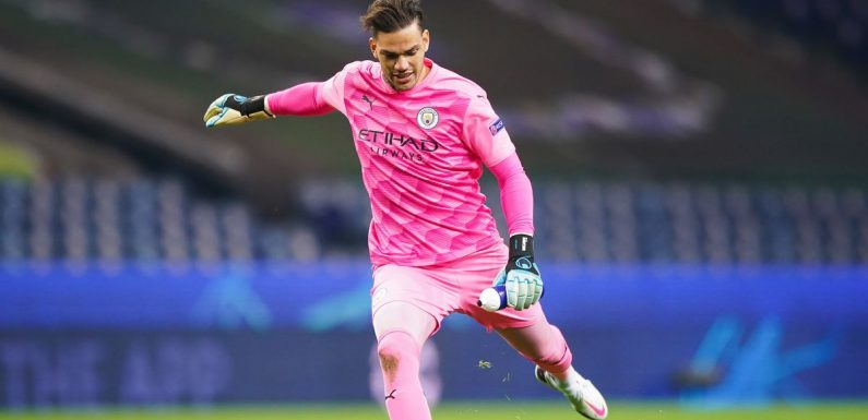 Pep Guardiola admits he would let keeper Ederson take a penalty for Man City