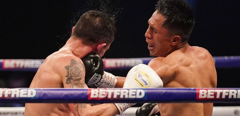 Josh Warrington getting 'psychology' help from Anthony Joshua after first defeat