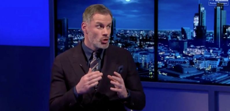 Carragher apoplectic with rage after Liverpool loss makes him 'sick' of excuses