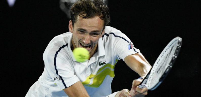 Ruthless Medvedev sets up showdown with world No.1 Djokovic