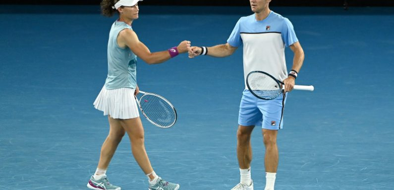 Stosur and Ebden fall to 'flawless' Ram/Krejcikova partnership in mixed doubles final