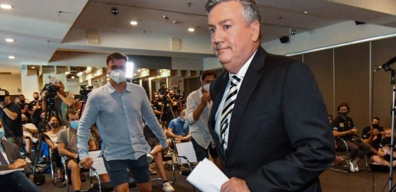 'Easier without him': McGuire had to go for Pies to move forward, says AFL boss