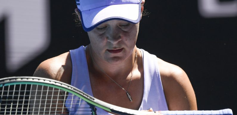 Barty Over: Ash out of Open