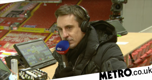 Gary Neville makes surprising admission after Man Utd's draw to Everton