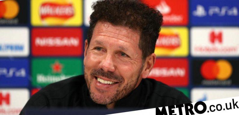 Diego Simeone rates Thomas Tuchel's job at Chelsea so far ahead of Atletico tie