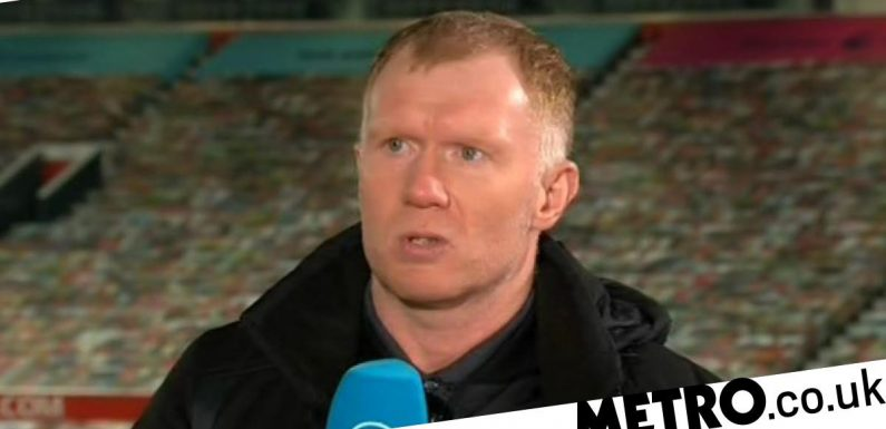 Paul Scholes names the signing Man Utd need to get to the 'next level'