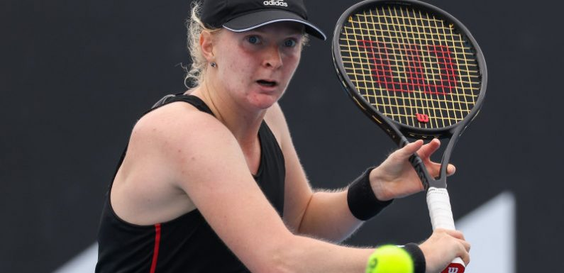 Meet Francesca Jones, the player about to make her grand slam debut