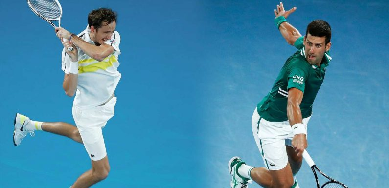 Australian Open men's final: Time, TV streaming and key information for Novak Djokovic vs. Daniil Medvedev