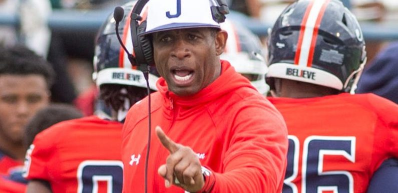 Deion Sanders, 'Coach Prime,' wins debut as Jackson State football routs Edward Waters